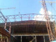 Installation of engineering buildings at Alchevsk Metallurgical Plant PJSC