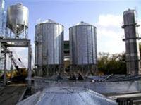 Строительство зернового элеватора