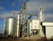 installation of tanks, elevator, steel