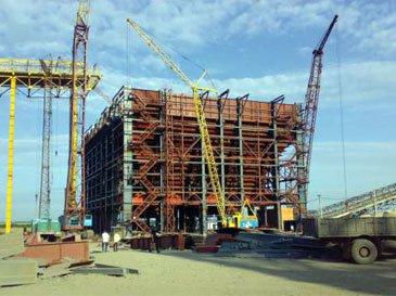 Строительство металлургических заводов